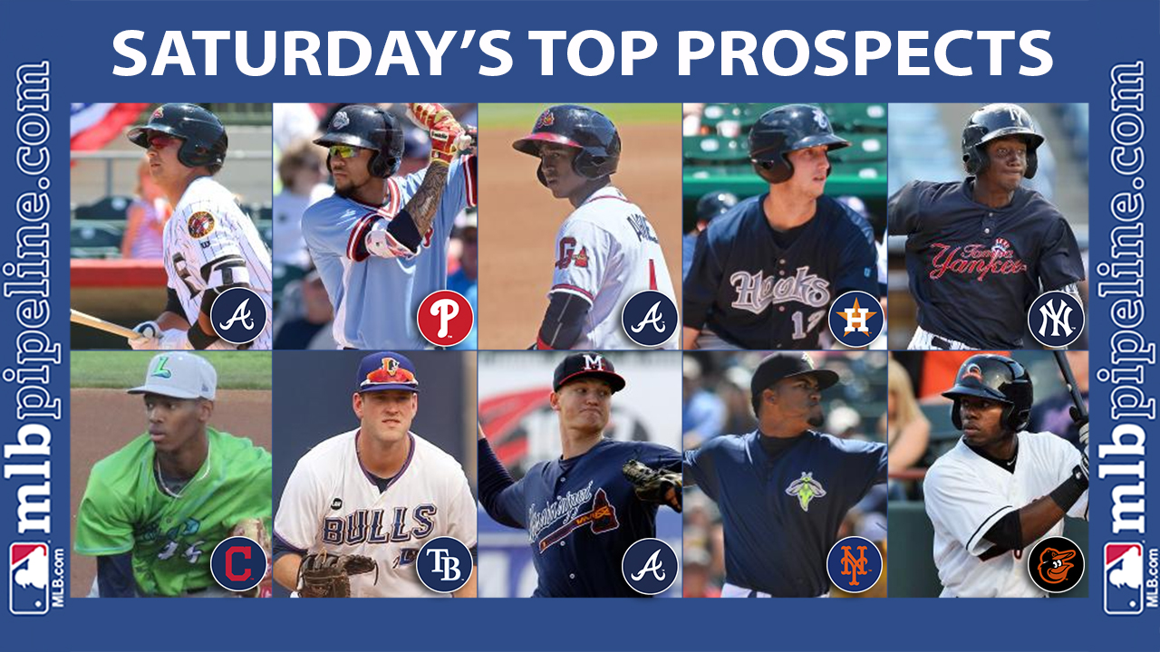 Saturday's best: Riley perfect at the plate for Fire Frogs